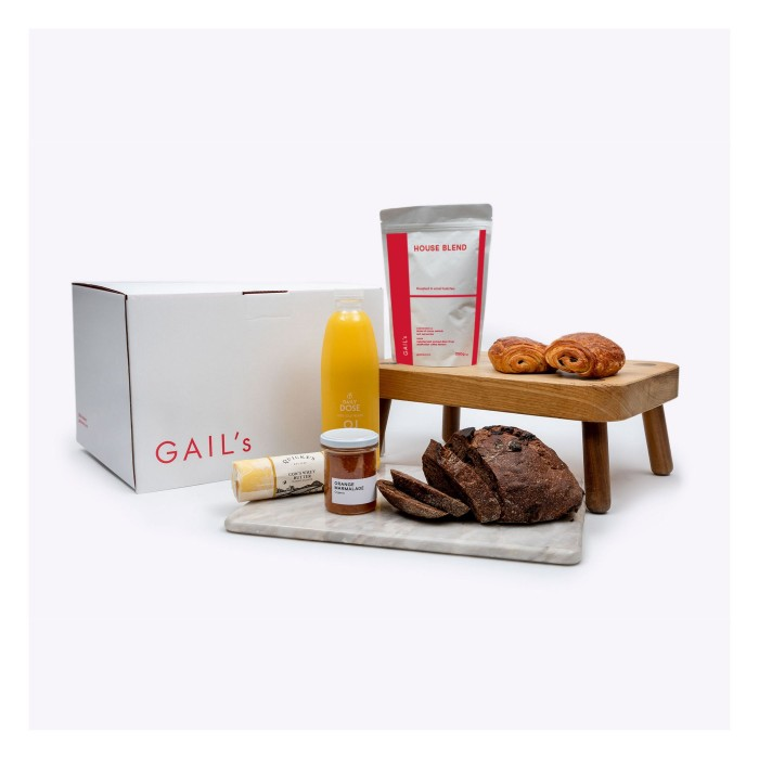 Chocolate Breakfast in Bed Hamper