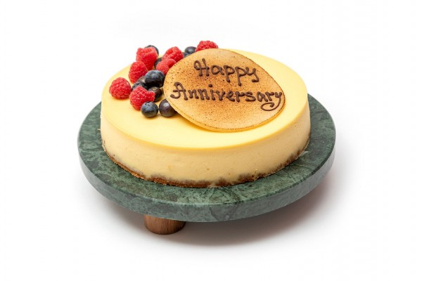 Baked cheesecake (inscribed)
