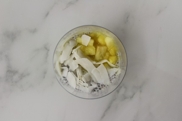 Chia Seeds, Pineapple & Coconut