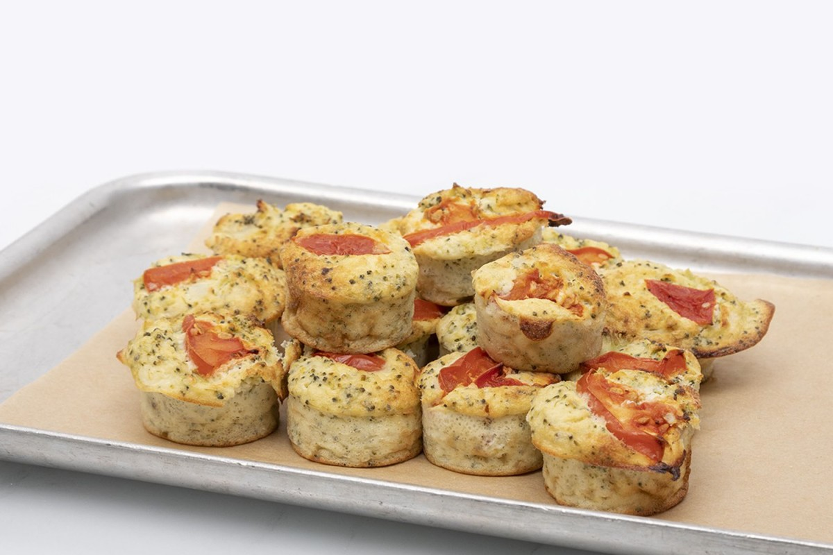 15 Mini Crustless Quiche