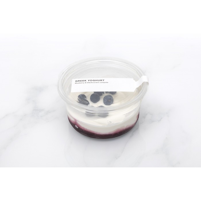 Greek Yoghurt with Blueberry Compote