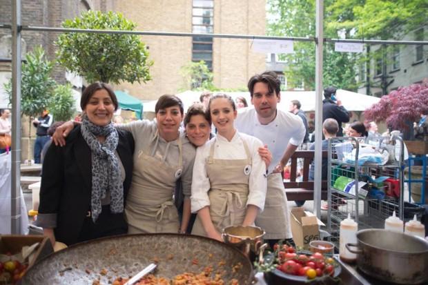GAIL's Kitchen at Soho Food Feast