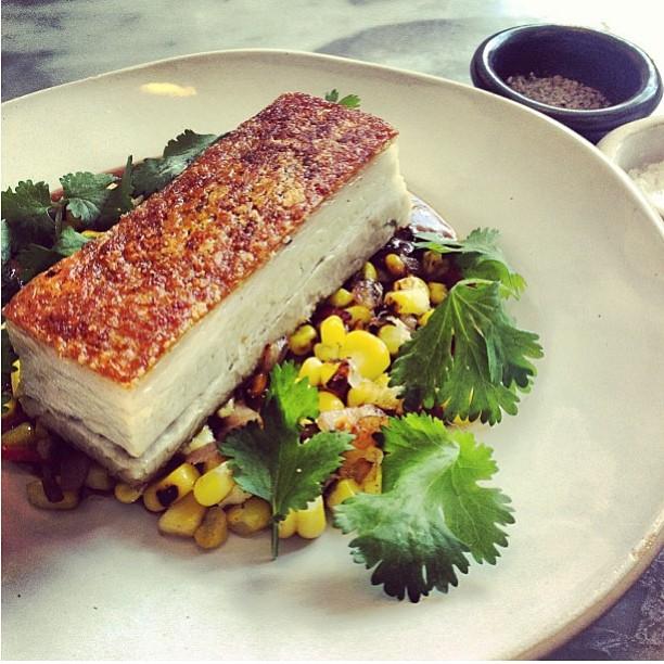 Pork belly at GAIL's Kitchen