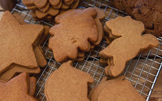 Christmas baking for children