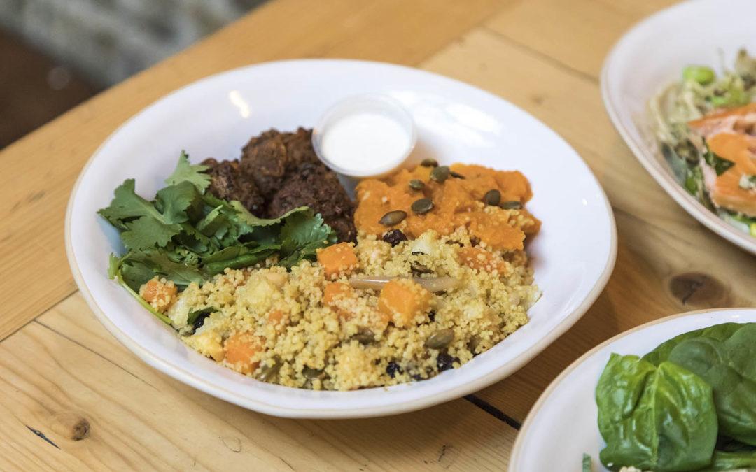 Lamb and beef kofta Salad