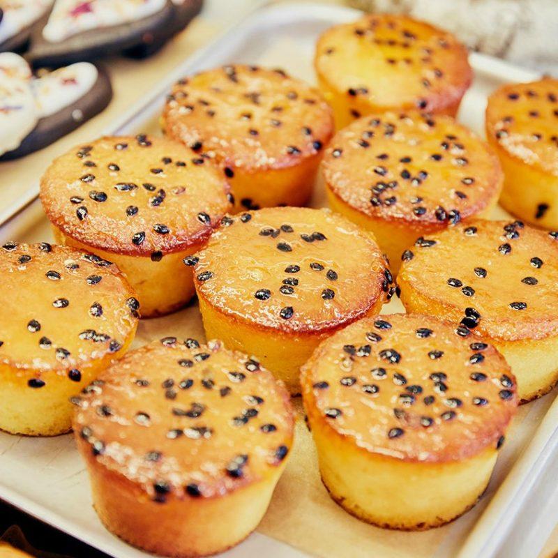 Baking for Kew Gardens' Orchids Festival