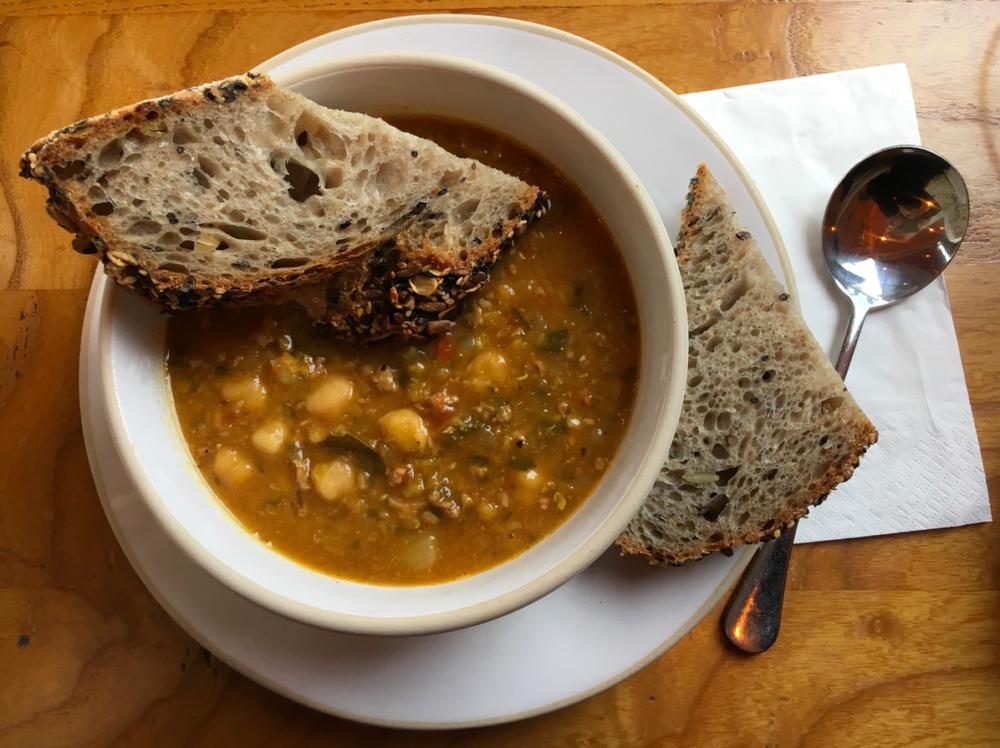 Moroccan Lamb Harira Soup Recipe